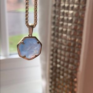 Blue Kendra Scott Necklace